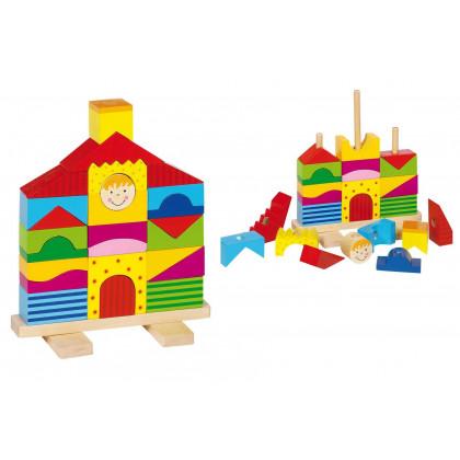 Maison en bois à assembler