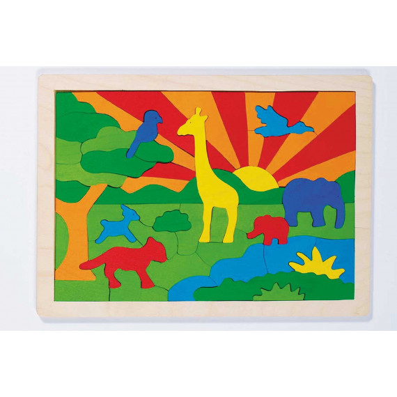 Puzzle en bois Phare (52 pièces)