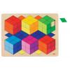 Puzzle 3D Optique en bois