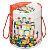 Cubes de construction en bois - 100 pièces