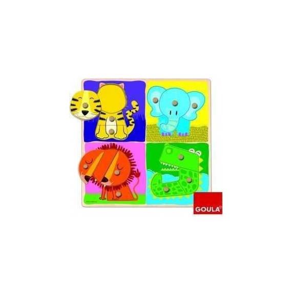 Puzzle Animaux Jungle