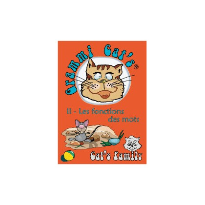 Grammi Cat's : Les classes grammaticales