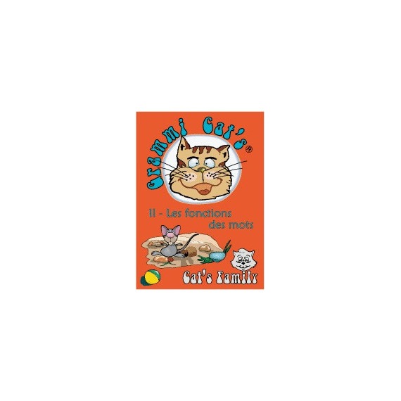 Grammi Cat's : Les classes grammaticales