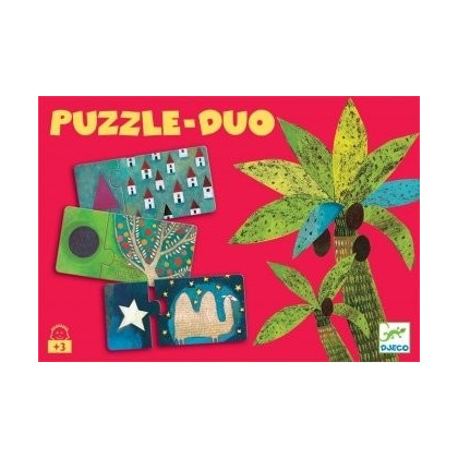 Puzzle Duo Formes 12 X 2