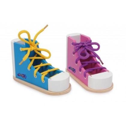 Jeu de laçage : lacer ses chaussures