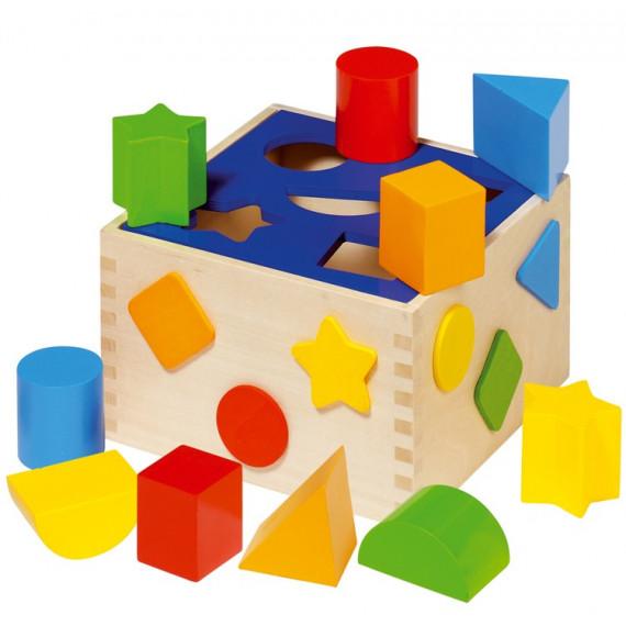 Boîte à Formes en bois (10 formes)