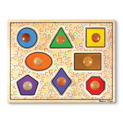 Puzzle géant  Formes géométriques