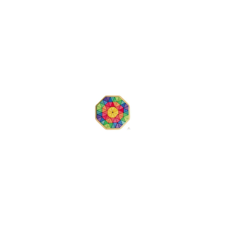 Puzzle octogonal en bois (72 pièces)