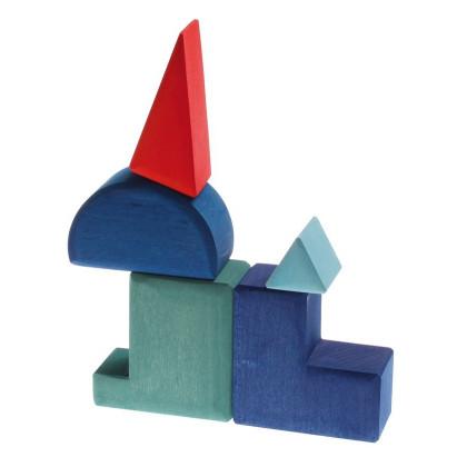 Coffret de formes géométriques à assembler