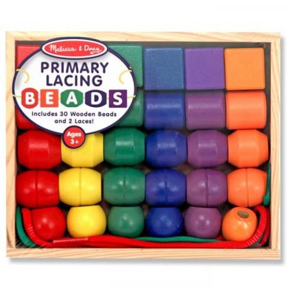 Grosses perles primaires  x 30