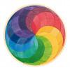 Puzzle rond Spirale de couleurs