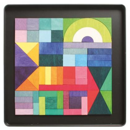 Puzzle magnétique Géo-graphical  59 pièces
