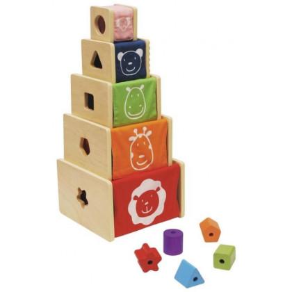 Cubes gigogne de motricité
