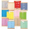 Cadre d'habillage Montessori : Boutons pressions