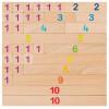 Réglettes de calcul en bois