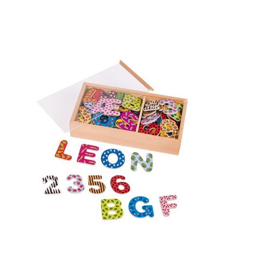 Lettres et chiffres magnétiques design