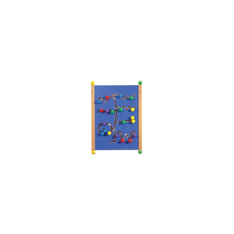 Grand jeu mural Road Runner bleu