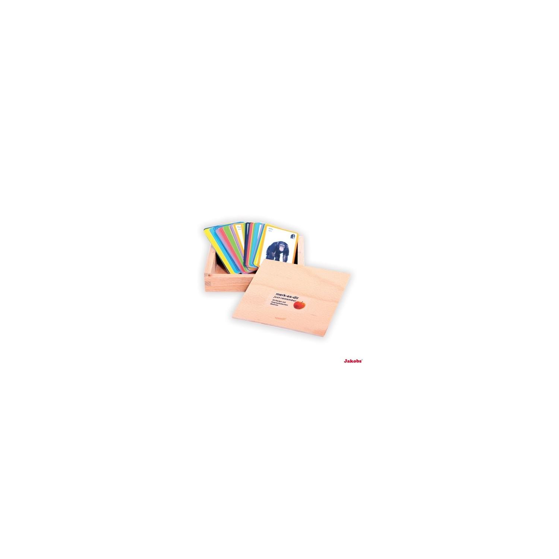 Imagier/jeu de cartes anglais-allemand