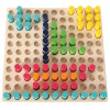 Jeu des 121 cylindres de couleur