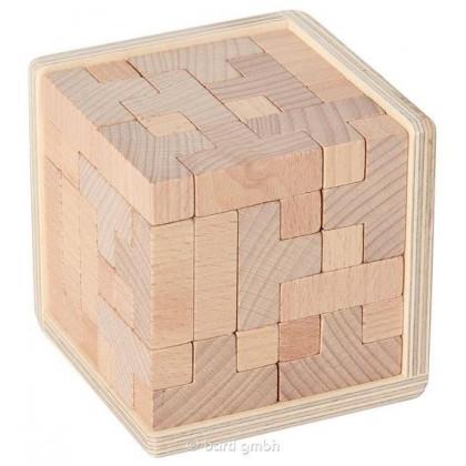 Casse-tête en bois naturel