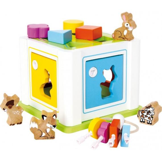 Boîte à formes et animaux avec clés
