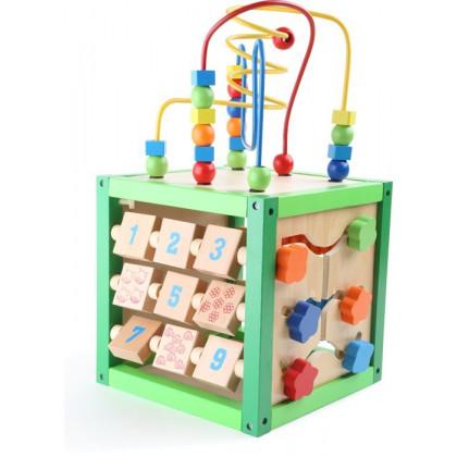 Cube de motricité Printemps