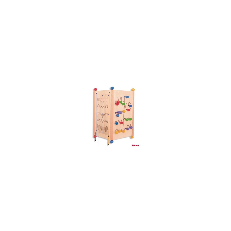Tryptique de grands jeux muraux en bois