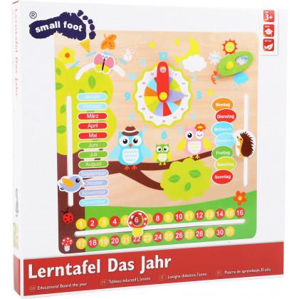 Tableau calendrier annuel en allemand