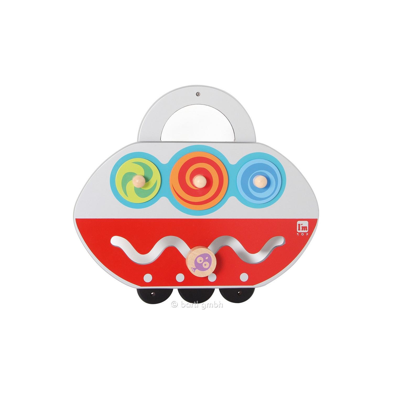 Petit jeu mural Soucoupe volante