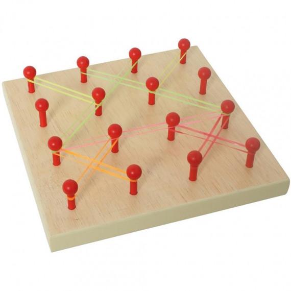 Planche géométrique (avec élastiques)