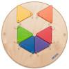 Jeu mural Triangles colorés (Petit)