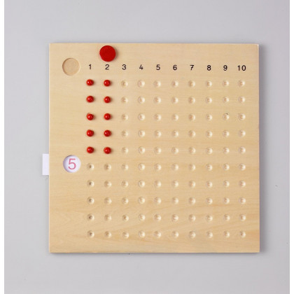 Table de multiplication Montessori