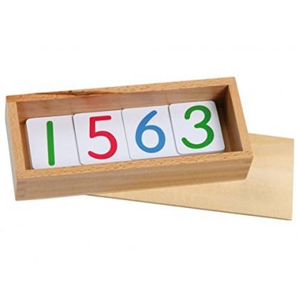 Cartes des nombres de 1 à 90