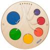 Petit jeu mural Encastrement coloré