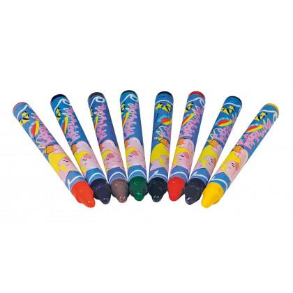 Crayons pour textile (Lot de 8)