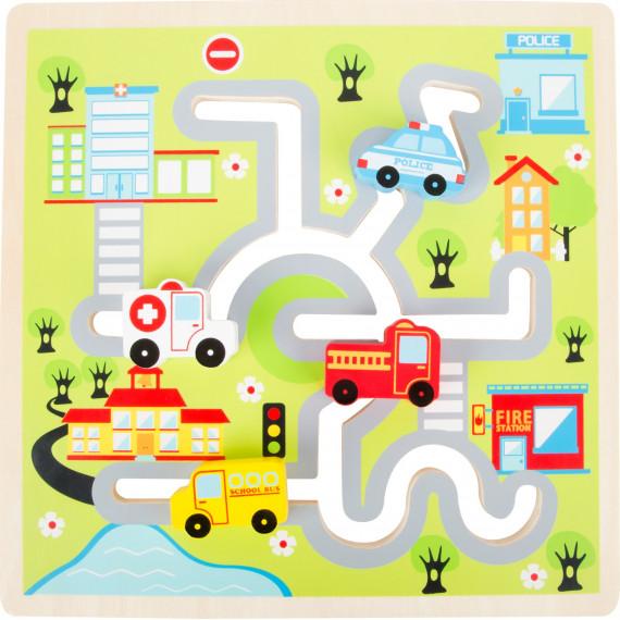 Puzzle coulissant City