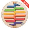 Petit jeu mural Les 12 pièces colorées