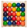 Petit jeu mural Boules colorées