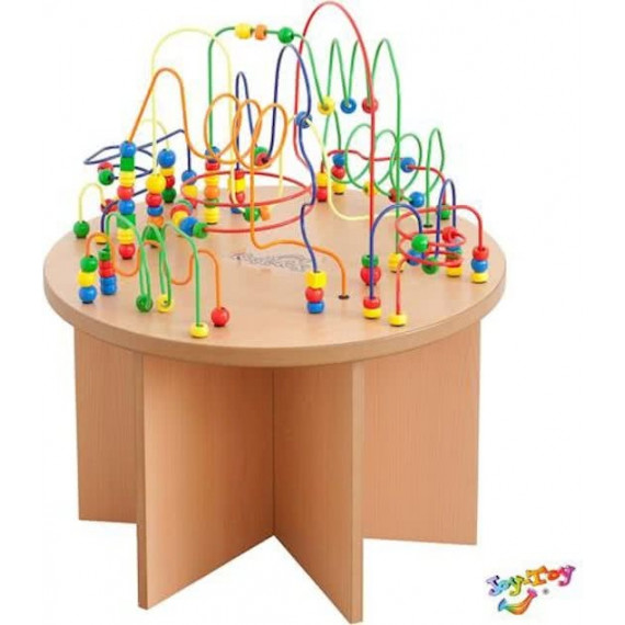 Table boulier en bois