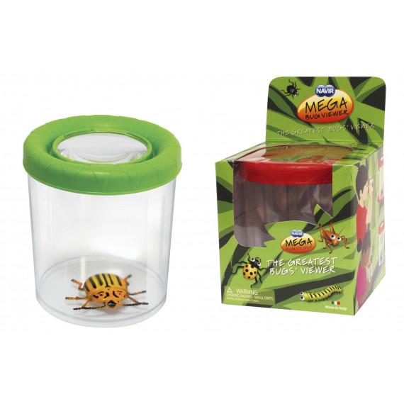 Boîte loupe insecte