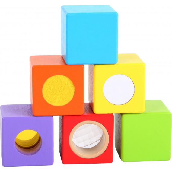 Cubes en bois Petits Explorateurs
