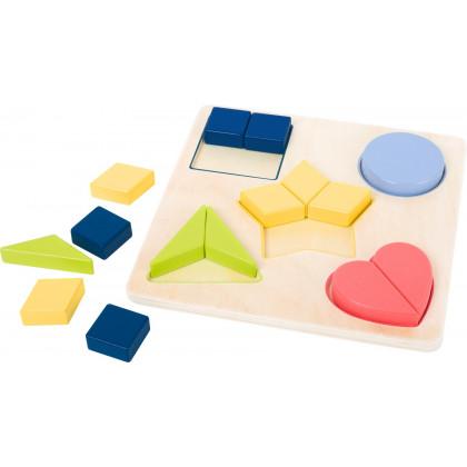 Puzzle de formes géométriques Education