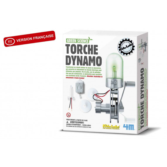Green Science : Torche Dynamo