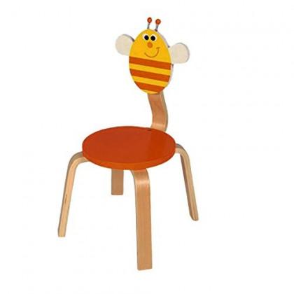 Chaise enfant en bois Abeille