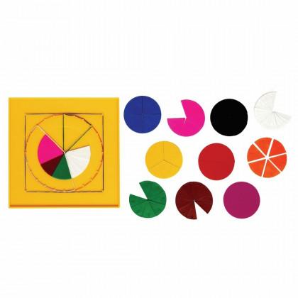 Fractions et Géométrie : Set d'apprentissage