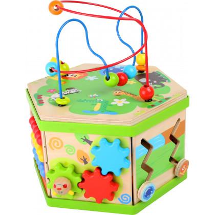 Cube de motricité Safari