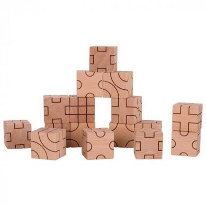 Jeu de construction géométrie