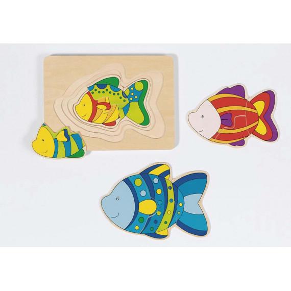 Puzzle gigogne : Les papillons